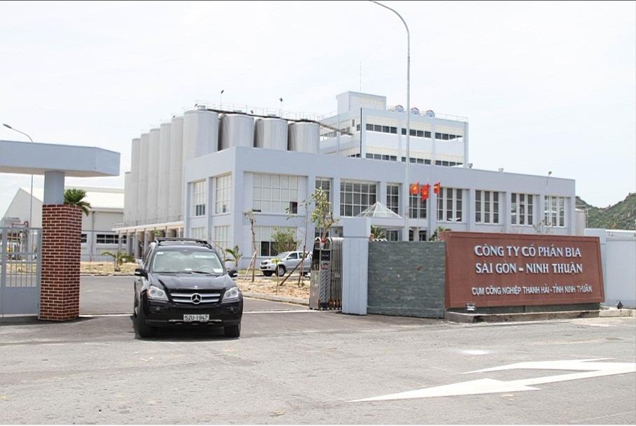 Nhà máy Bia Sài Gòn – Ninh Thuận đi vào hoạt động