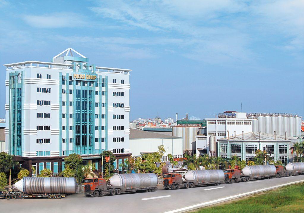 Tòa nhà trụ sở chính tập đoàn Polyco