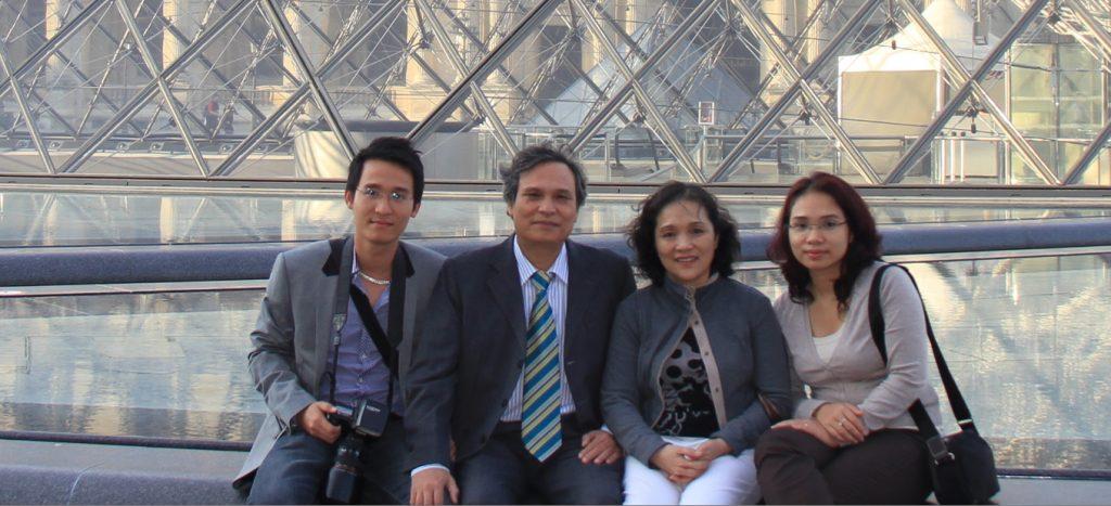 Gia đình chị Phạm Thị Cẩn