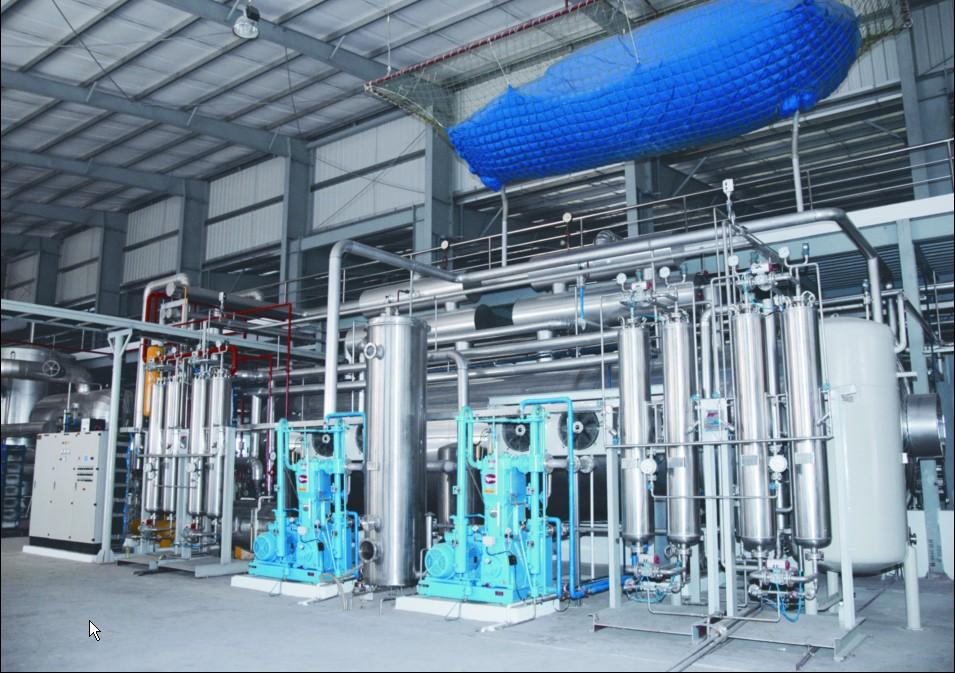 Hệ thống CO2 của Nhà máy Bia Sài Gòn - Hà Nội