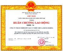 2. Huân chương lao động hạng nhì tập đoàn Polyco