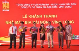 Lễ khánh thành nhà máy bia Sài Gòn - Vĩnh Long