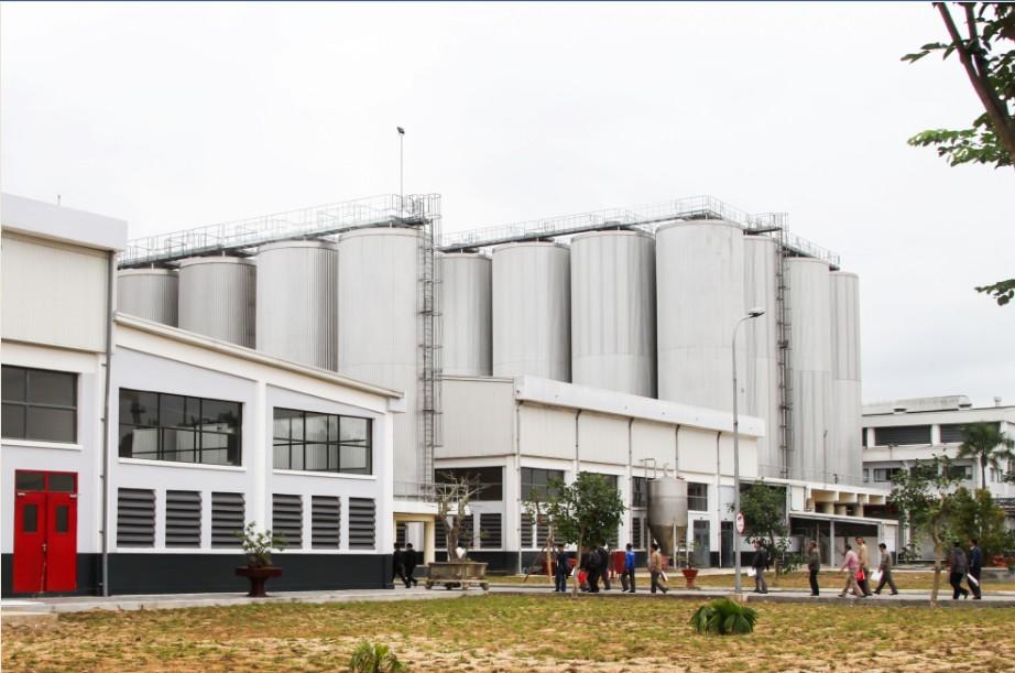 Nhà máy Bia Sài Gòn - Quảng Ngãi