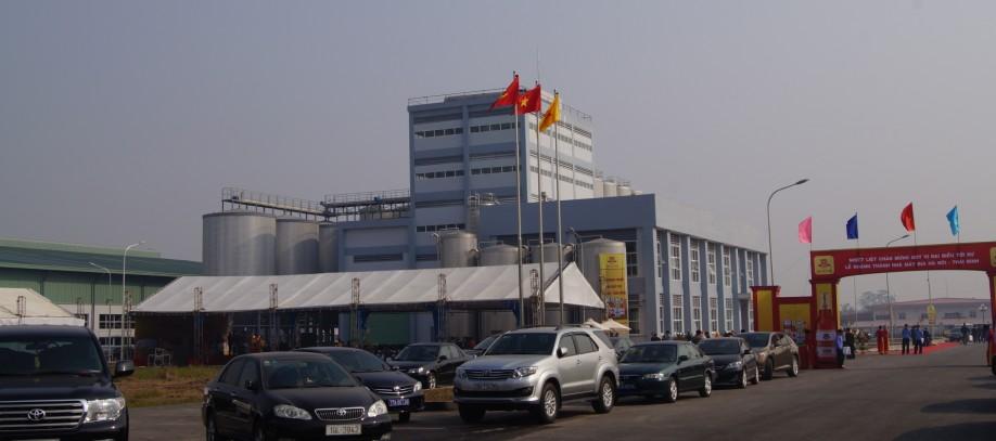 POLYCO hoàn thành công trình Nhà mày Bia Hà Nội - Thái Bình 6