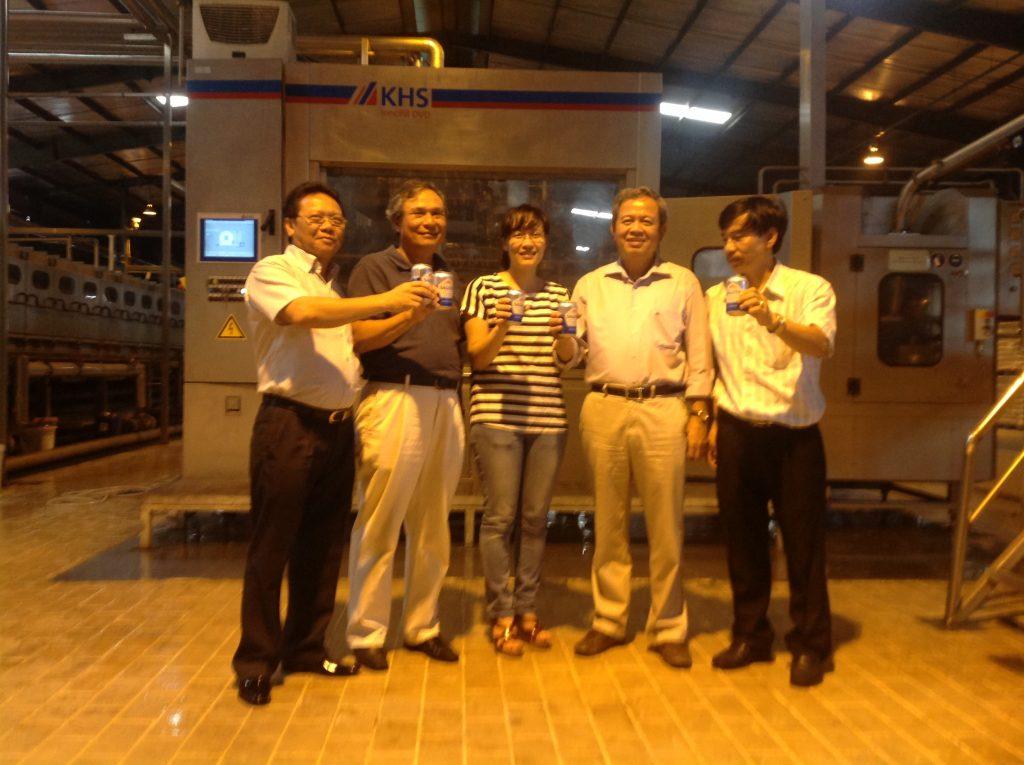 Sản xuất bia không cồn đầu tiên tại Việt Nam thương hiệu Sagota 1