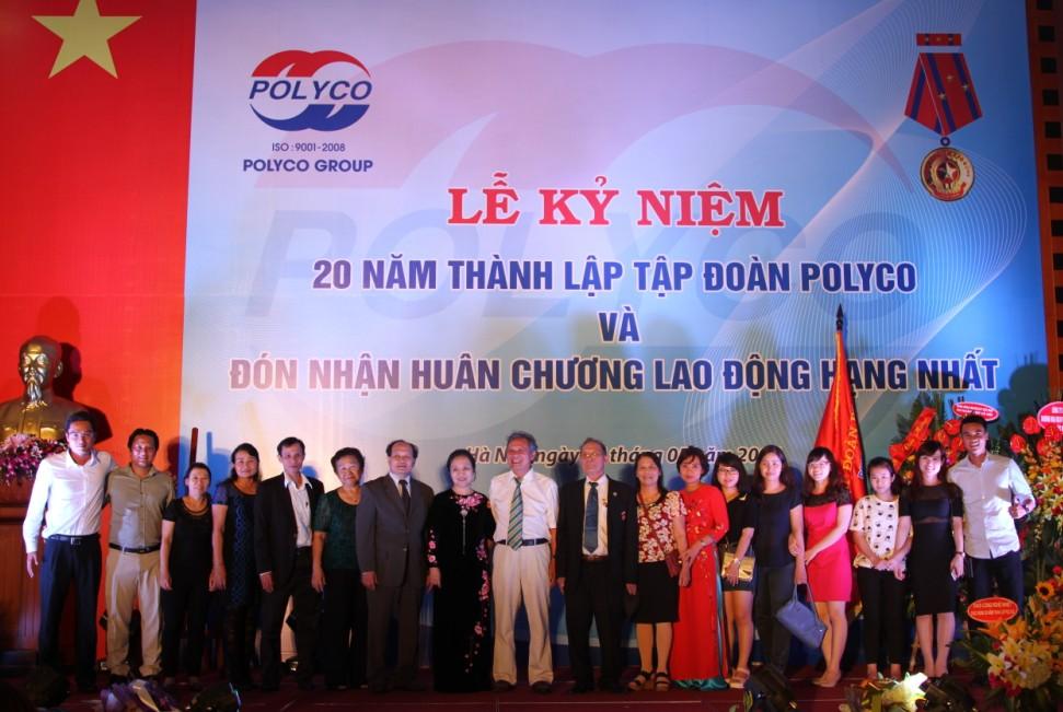 Tập đoàn POLYCO đón nhận Huân chương Lao động hạng Nhất 5