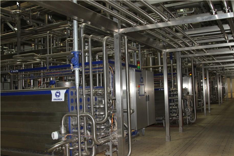Thiết bị Nhà máy sữa Vinamilk