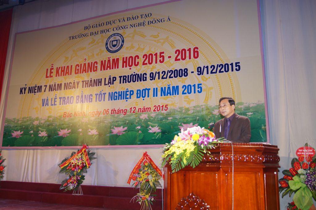 Ông Trịnh Văn Điền - Phó giám đốc sở Giáo dục và Đào tạo tỉnh Bắc Ninh.